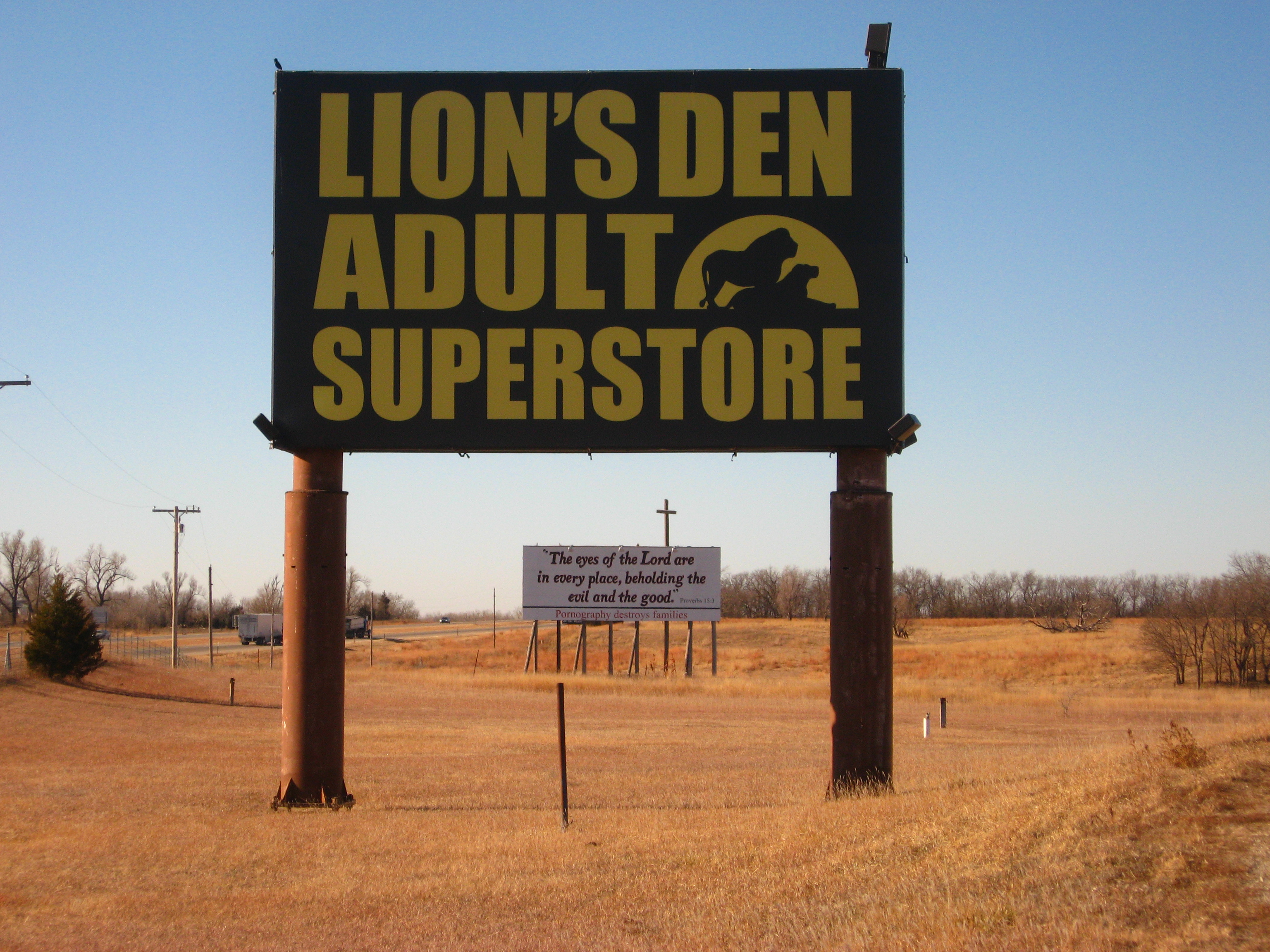 Let's Lions den adult bookstore